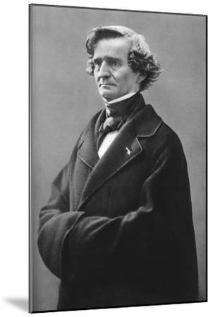Hector Berlioz (1803-186), French Romantic Composer-Felix Nadar-Mounted Giclee Print