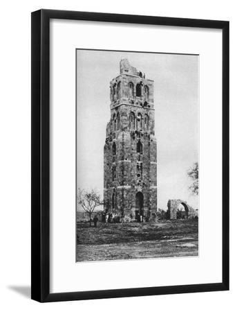 Tower of the Forty Martyrs, Ramla, Palestine, C1930S-Ewing Galloway-Framed Premium Giclee Print