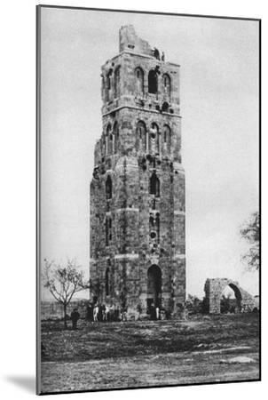 Tower of the Forty Martyrs, Ramla, Palestine, C1930S-Ewing Galloway-Mounted Premium Giclee Print