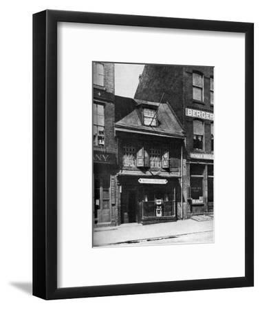 Birthplace of the Flag of the United States, Philadelphia, Pennsylvania, USA, C1930S-Ewing Galloway-Framed Premium Giclee Print