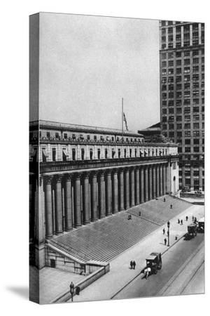 James Farley Post Office Building, New York City, USA, C1930s-Ewing Galloway-Stretched Canvas Print