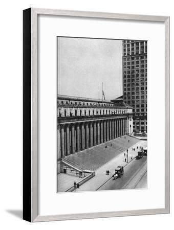 James Farley Post Office Building, New York City, USA, C1930s-Ewing Galloway-Framed Premium Giclee Print