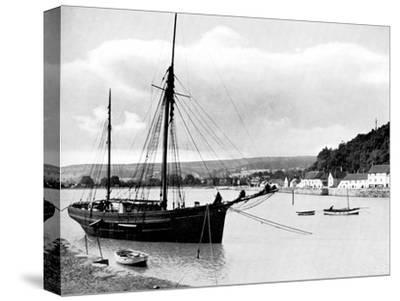 Minehead from the Harbour Wall, Somerset, 1924-1926-E Bastard-Stretched Canvas Print