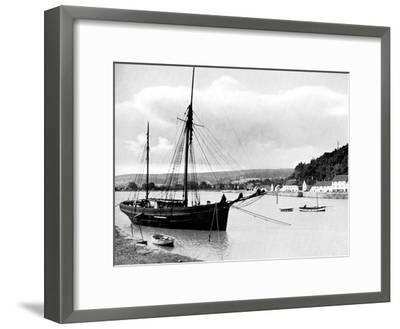 Minehead from the Harbour Wall, Somerset, 1924-1926-E Bastard-Framed Giclee Print