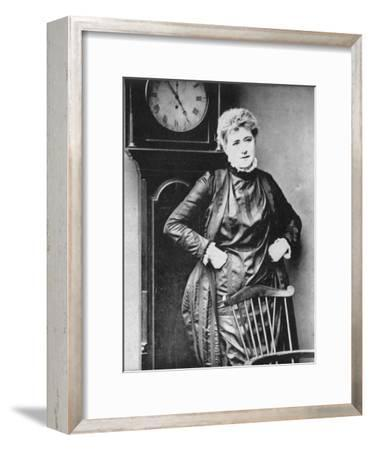 Ellen Terry, British Actress, 1887-Ernest Barraud-Framed Giclee Print