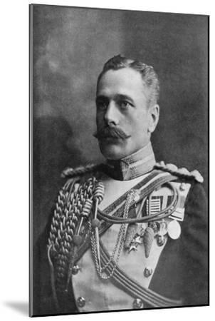 Field Marshal Sir Douglas Haig, British Soldier, C1920-HW Barnett-Mounted Giclee Print
