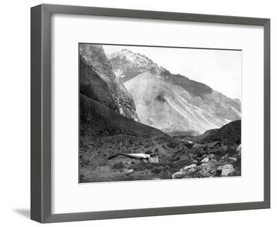 Pass of Uspallata, Andes Mountains, South America, 1893-John L Stoddard-Framed Giclee Print