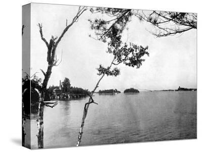The Thousand Islands, St Lawrence River, Canada, 1893-John L Stoddard-Stretched Canvas Print