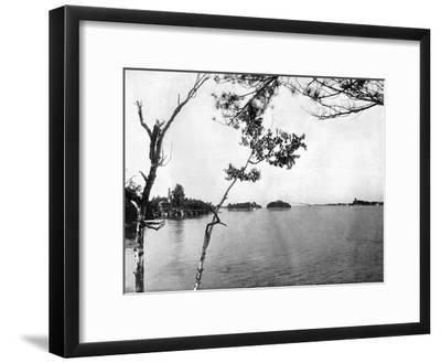 The Thousand Islands, St Lawrence River, Canada, 1893-John L Stoddard-Framed Giclee Print