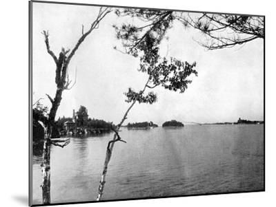 The Thousand Islands, St Lawrence River, Canada, 1893-John L Stoddard-Mounted Giclee Print