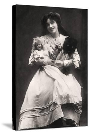 Madge Crichton (B188), Actress, 1906- Lemeilleur-Stretched Canvas Print