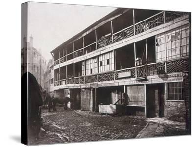 King's Head Inn, Southwark, London, 1881-Henry Dixon-Stretched Canvas Print