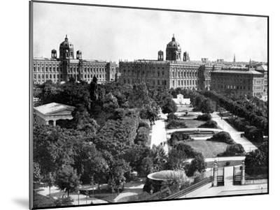 Volksgarten and Theseum, Vienna, Austria, 1893-John L Stoddard-Mounted Giclee Print