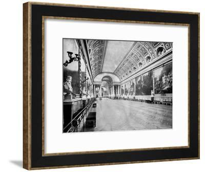 Gallery of Battles, Versailles, France, 1893-John L Stoddard-Framed Giclee Print