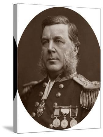 Captain Bedford Clapperton Trevelyan Pim, British Naval Officer, 1883-Lock & Whitfield-Stretched Canvas Print