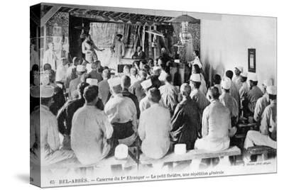 French Foreign Legion, Sidi Bel Abbes, Algeria, 20th Century-J Geiser-Stretched Canvas Print