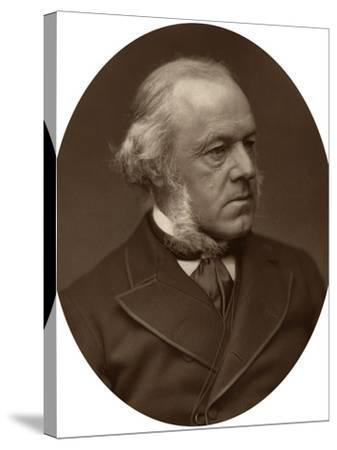 Henry Austin Bruce, 1st Baron Aberdare, Statesman, 1882-Lock & Whitfield-Stretched Canvas Print