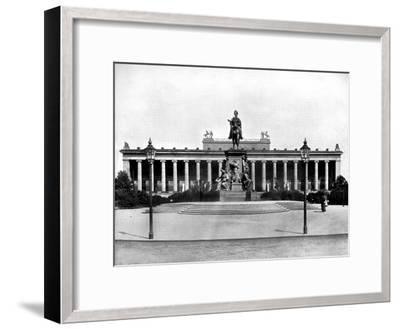 The Royal Museum, Berlin, 1893-John L Stoddard-Framed Giclee Print