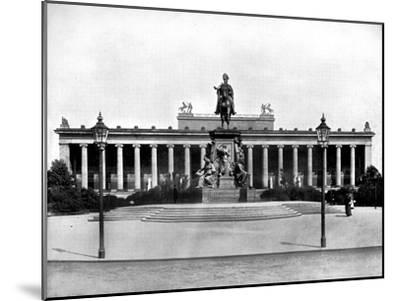The Royal Museum, Berlin, 1893-John L Stoddard-Mounted Giclee Print