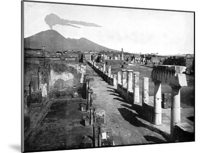 The Forum, Pompeii, Italy, 1893-John L Stoddard-Mounted Giclee Print