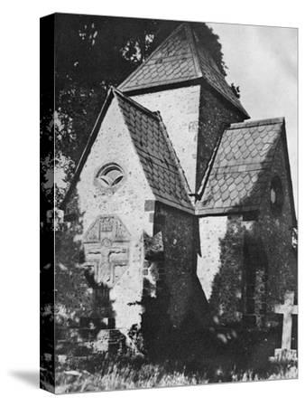 Chideock Church, Dorset, 1924-1926-Herbert Felton-Stretched Canvas Print