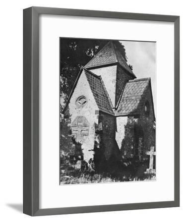 Chideock Church, Dorset, 1924-1926-Herbert Felton-Framed Giclee Print
