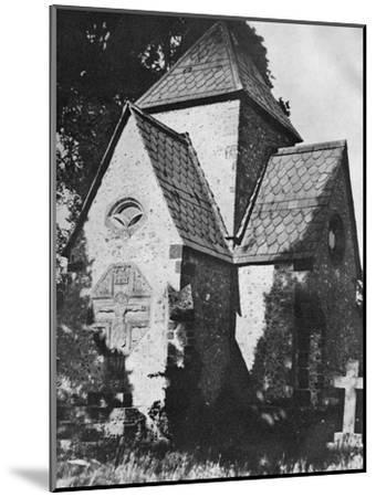 Chideock Church, Dorset, 1924-1926-Herbert Felton-Mounted Giclee Print