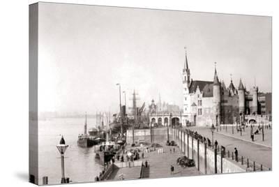 Antwerp, 1898-James Batkin-Stretched Canvas Print