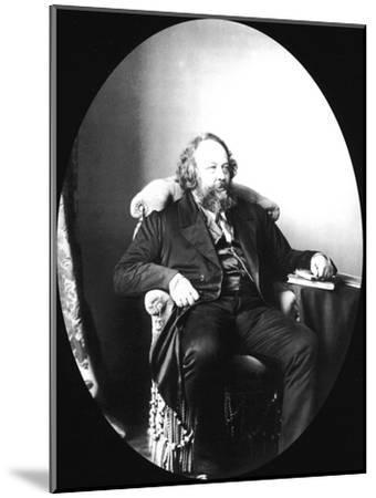Mikhail Bakunin, Russian Revolutionary and Theorist of Anarchism, 1863-Sergei Levitsky-Mounted Giclee Print