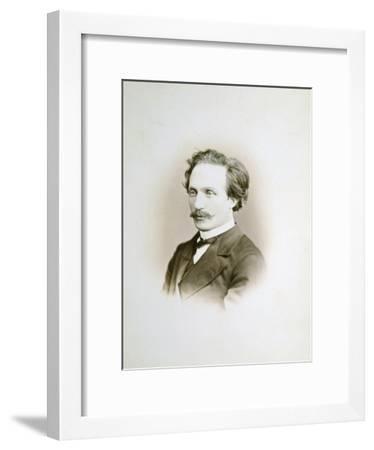 Alexander Winterberger, Pianist and Organist, 19th Century-Sergei Levitsky-Framed Giclee Print