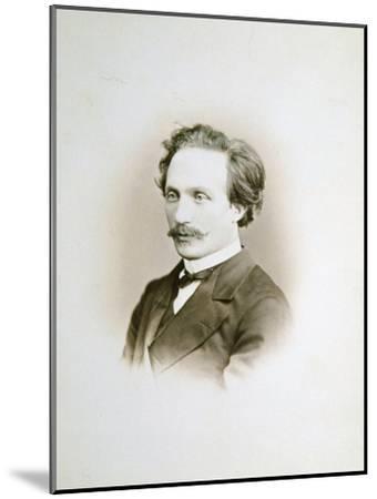 Alexander Winterberger, Pianist and Organist, 19th Century-Sergei Levitsky-Mounted Giclee Print