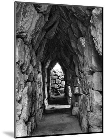 Amongst the Ruins of Tirynth, Greece, 1937-Martin Hurlimann-Mounted Giclee Print