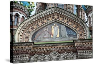 Church of the Saviour on Blood, St Petersburg, Russia, 2011-Sheldon Marshall-Stretched Canvas Print