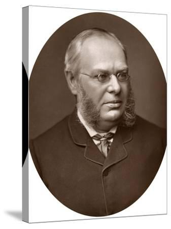 Hon Sir Lewis William Cave, Judge of the High Court of Justice, 1883-Lock & Whitfield-Stretched Canvas Print