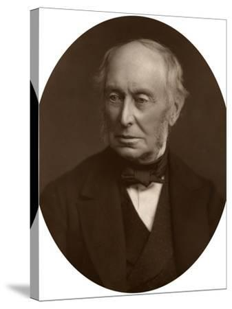 Samuel Morley, Mp, Industrialist and Politician, 1882-Lock & Whitfield-Stretched Canvas Print