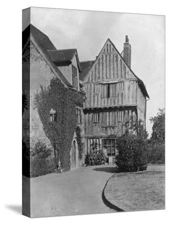 The Tudor Wing, Beeleigh Abbey, Near Maldon, Essex, 1924-1926-RE Thomas-Stretched Canvas Print