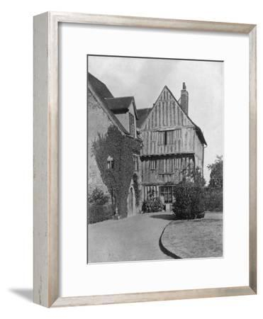 The Tudor Wing, Beeleigh Abbey, Near Maldon, Essex, 1924-1926-RE Thomas-Framed Giclee Print