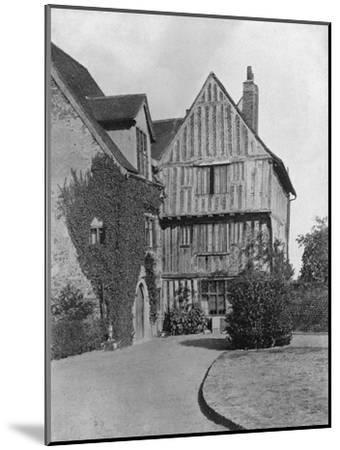 The Tudor Wing, Beeleigh Abbey, Near Maldon, Essex, 1924-1926-RE Thomas-Mounted Giclee Print
