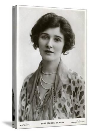 Mabel Sealby, British Actress, C1900s-C1910S-Rita Martin-Stretched Canvas Print