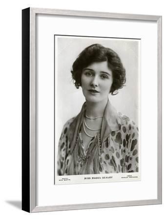 Mabel Sealby, British Actress, C1900s-C1910S-Rita Martin-Framed Giclee Print