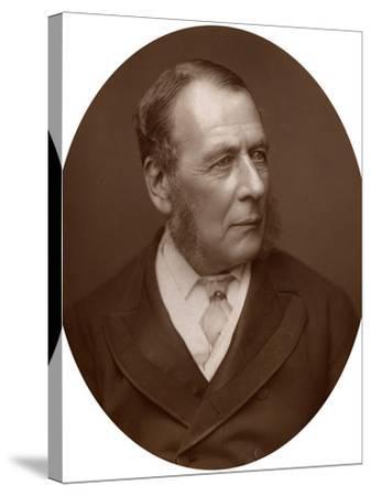 William Ballantine, Serjeant-At-Law, 1882-Lock & Whitfield-Stretched Canvas Print