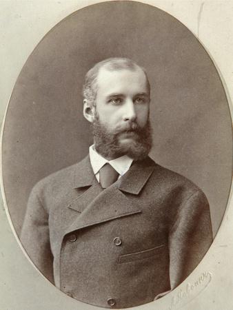 Pavel Dashkov, Russian Historian, Collector and Journalist, 1880S-Volf Ilyich Yasvoin-Framed Giclee Print