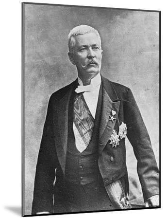 Henry Morton Stanley, Welsh Journalist and Explorer, Late 19th or Early 20th Century--Mounted Giclee Print