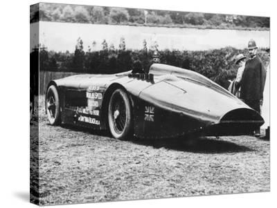 Sunbeam 1000 Hp Car, 1927--Stretched Canvas Print