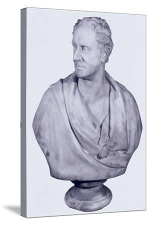 Sir David Salomans, 1858-William Behnes-Stretched Canvas Print