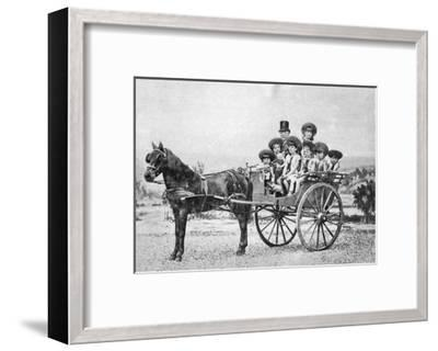 Ferdinand De Lesseps, French Diplomat and Entrepreneur, 1875--Framed Giclee Print