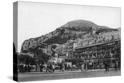Casemates Square, Gibraltar, Early 20th Century-VB Cumbo-Stretched Canvas Print