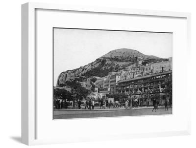 Casemates Square, Gibraltar, Early 20th Century-VB Cumbo-Framed Giclee Print