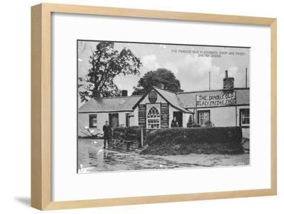 The Famous Old Blacksmith's Shop, Gretna Green, Dumfriesshire, Scotland, 20th Century--Framed Giclee Print