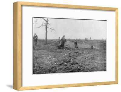 Second Battle of Champagne, France, World War I, September 1915--Framed Giclee Print